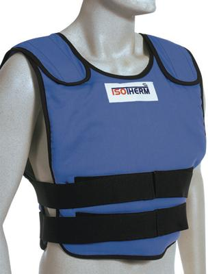 Bullard X-Large Blue Isotherm II Cooling Vest With Hook & Loop Closure