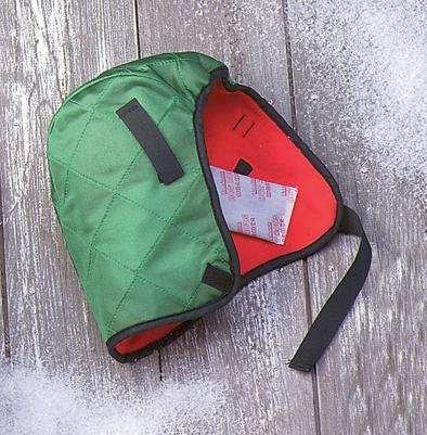 OccuNomix Hot Rods 100% Quilted Nylon Shell Green Winter Liner With Foam Middle And Red Fleece Lining